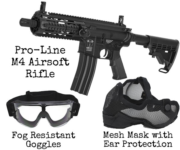 Airsoft Hire Gear